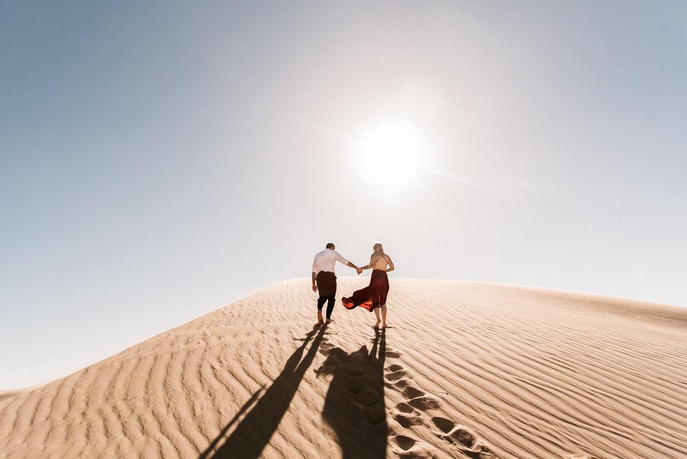 SamErica Studios - Modern San Diego Engagement Photographer - Adventure Engagement Session in Glamis Sand Dunes California-12.jpg
