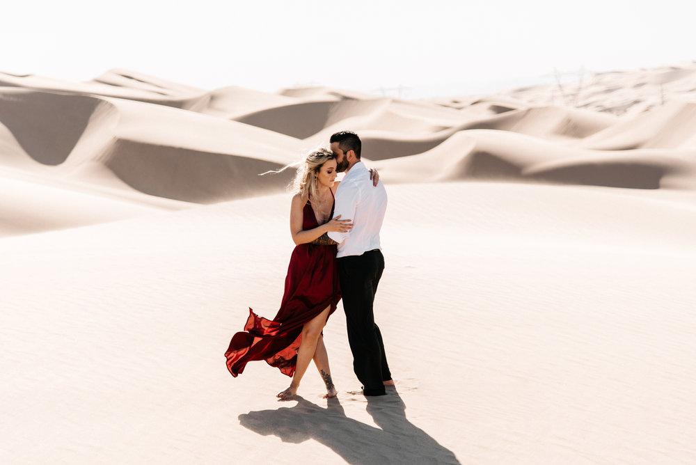 SamErica Studios - Modern San Diego Engagement Photographer - Adventure Engagement Session in Glamis Sand Dunes California-16.jpg