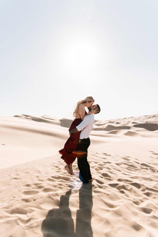 SamErica Studios - Modern San Diego Engagement Photographer - Adventure Engagement Session in Glamis Sand Dunes California-26.jpg