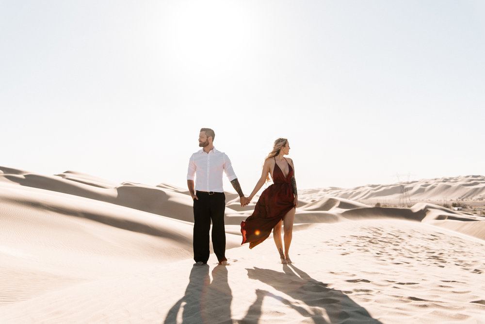 SamErica Studios - Modern San Diego Engagement Photographer - Adventure Engagement Session in Glamis Sand Dunes California-32.jpg