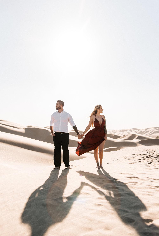 SamErica Studios - Modern San Diego Engagement Photographer - Adventure Engagement Session in Glamis Sand Dunes California-33.jpg