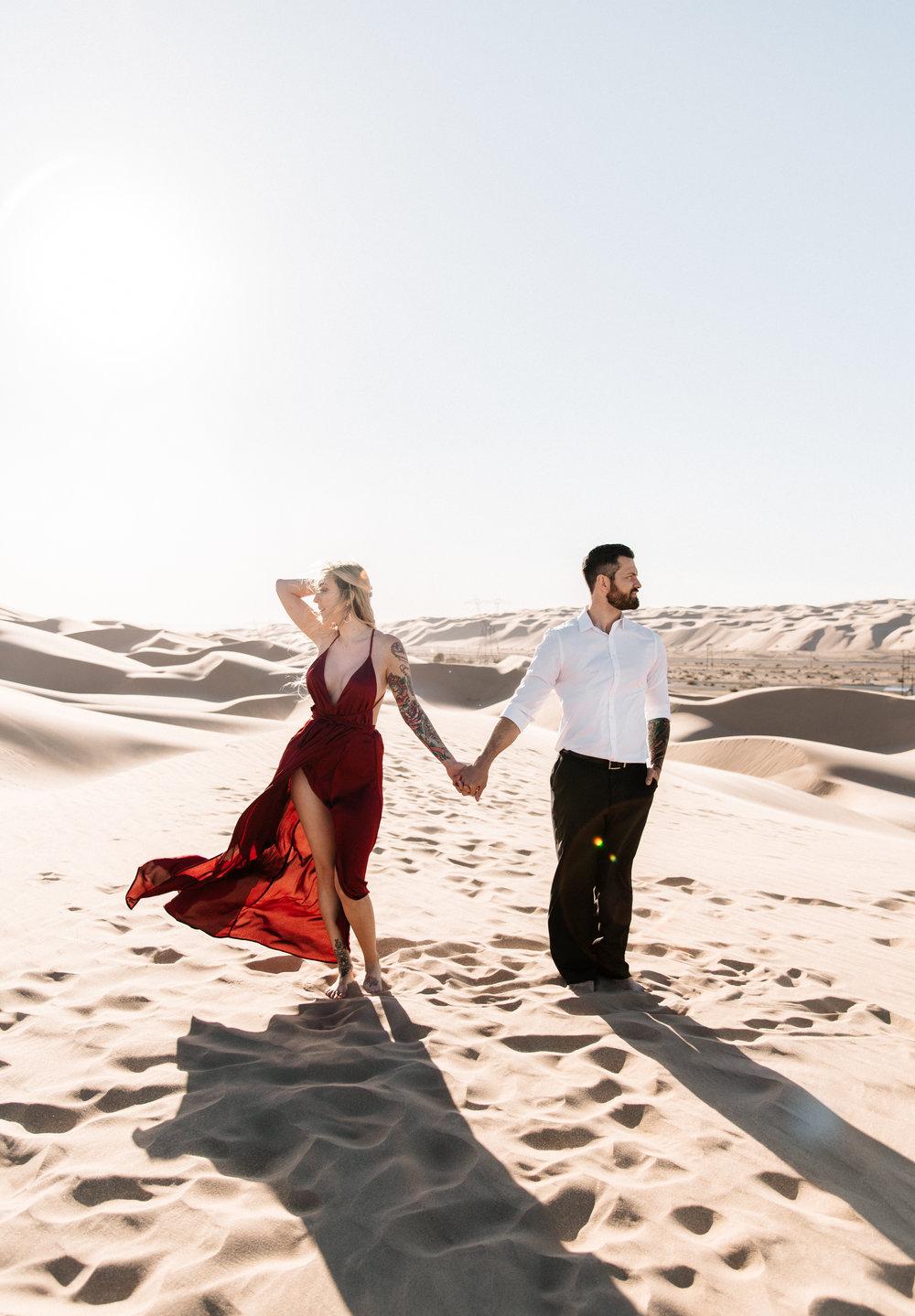SamErica Studios - Modern San Diego Engagement Photographer - Adventure Engagement Session in Glamis Sand Dunes California-34.jpg
