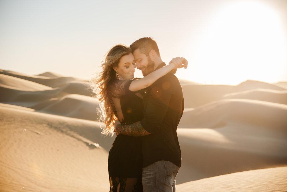 SamErica Studios - Modern San Diego Engagement Photographer - Adventure Engagement Session in Glamis Sand Dunes California-38.jpg