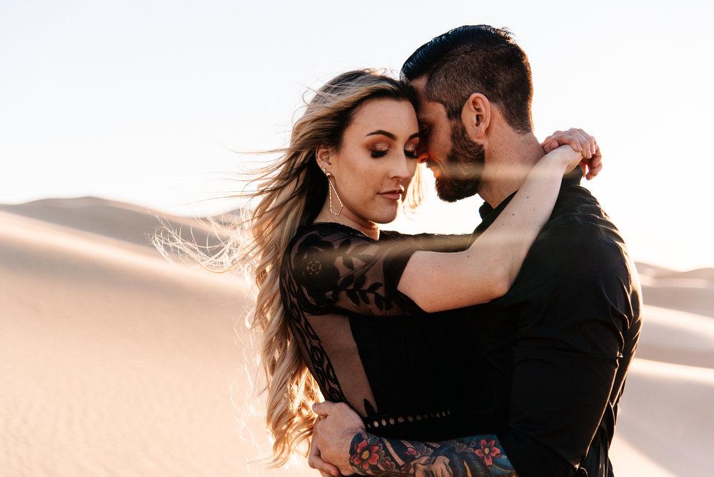 SamErica Studios - Modern San Diego Engagement Photographer - Adventure Engagement Session in Glamis Sand Dunes California-40.jpg