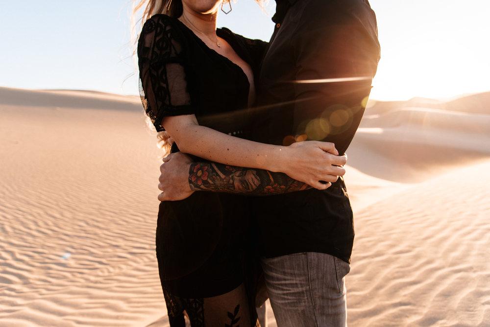 SamErica Studios - Modern San Diego Engagement Photographer - Adventure Engagement Session in Glamis Sand Dunes California-41.jpg