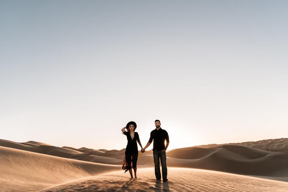 SamErica Studios - Modern San Diego Engagement Photographer - Adventure Engagement Session in Glamis Sand Dunes California-48.jpg