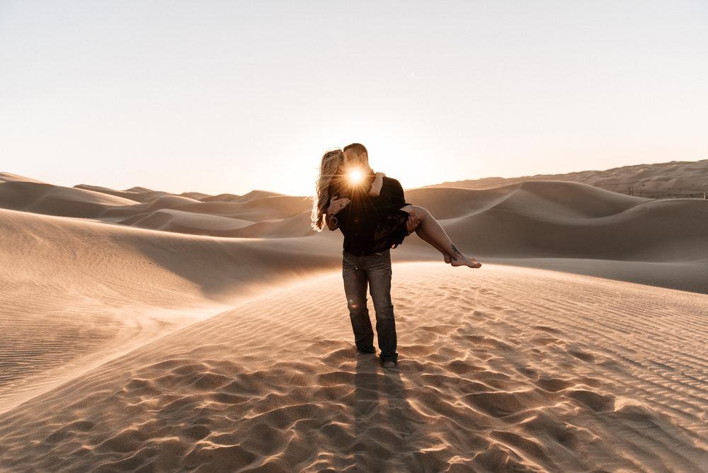 SamErica Studios - Modern San Diego Engagement Photographer - Adventure Engagement Session in Glamis Sand Dunes California-50.jpg