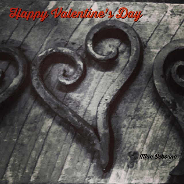 Happy Valentine's Day #handforgediron #handforged #blacksmithing #love
