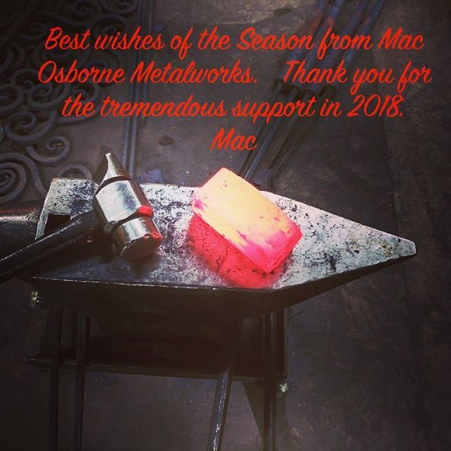 Happy holidays. #artisanblacksmith #blacksmith #sculptor #interiordesign #innovation