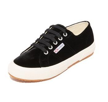 Superga Velvet Sneakers From Shopbop