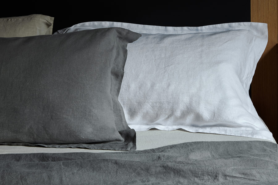 Bemboka1. linen pillow cases in slate and white colours.jpg