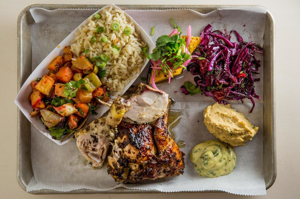 The Risbo Platter with chicken