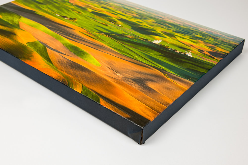 Gallery Wrap Canvas - Gallery Wrap Canvas offers a classic look with a slightly modern feel. Stunning color reproduction and detail with a subtle canvas texture. Printed with oil based inks on the finest canvas in a 11/2
