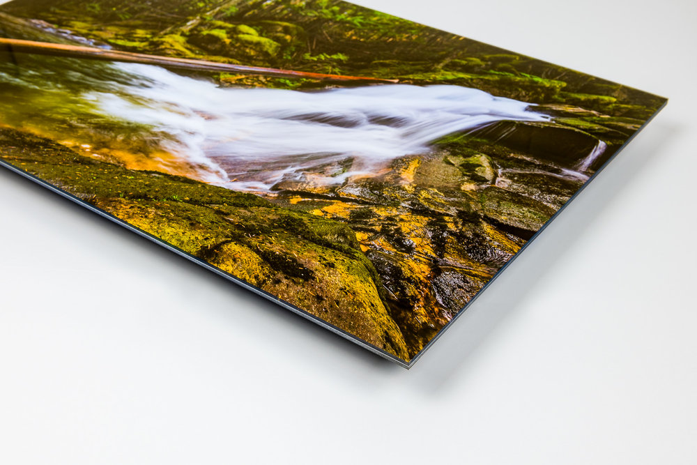Lumachrome Acrylic - Offering the most dynamic presentation possible, Lumachrome Acrylic prints have a 3-D look that brings the image to life. Unparalleled clarity, resolution and vibrancy from the front and a 1.35