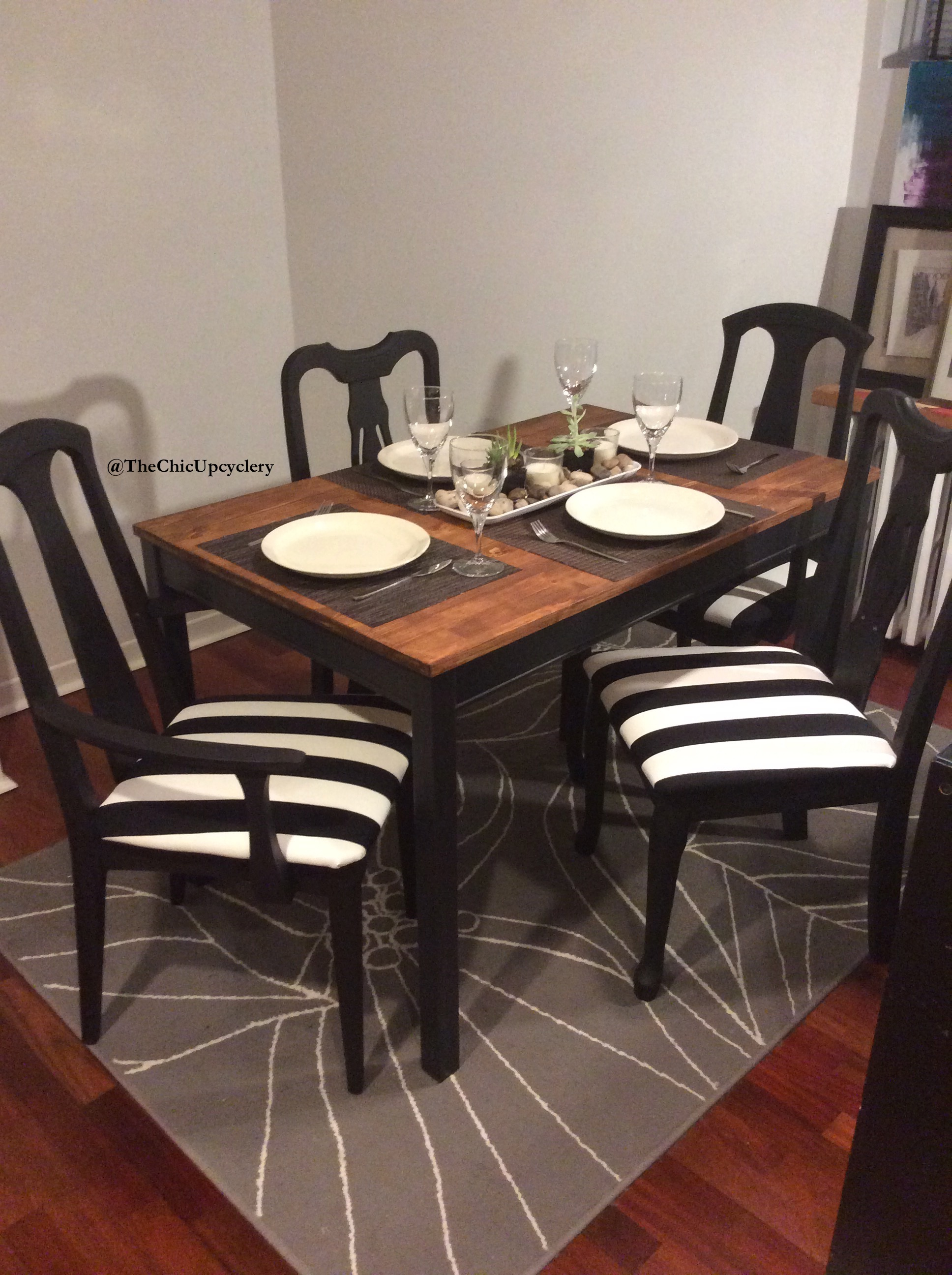 Apr 19 DIY Updated Dining Chairs