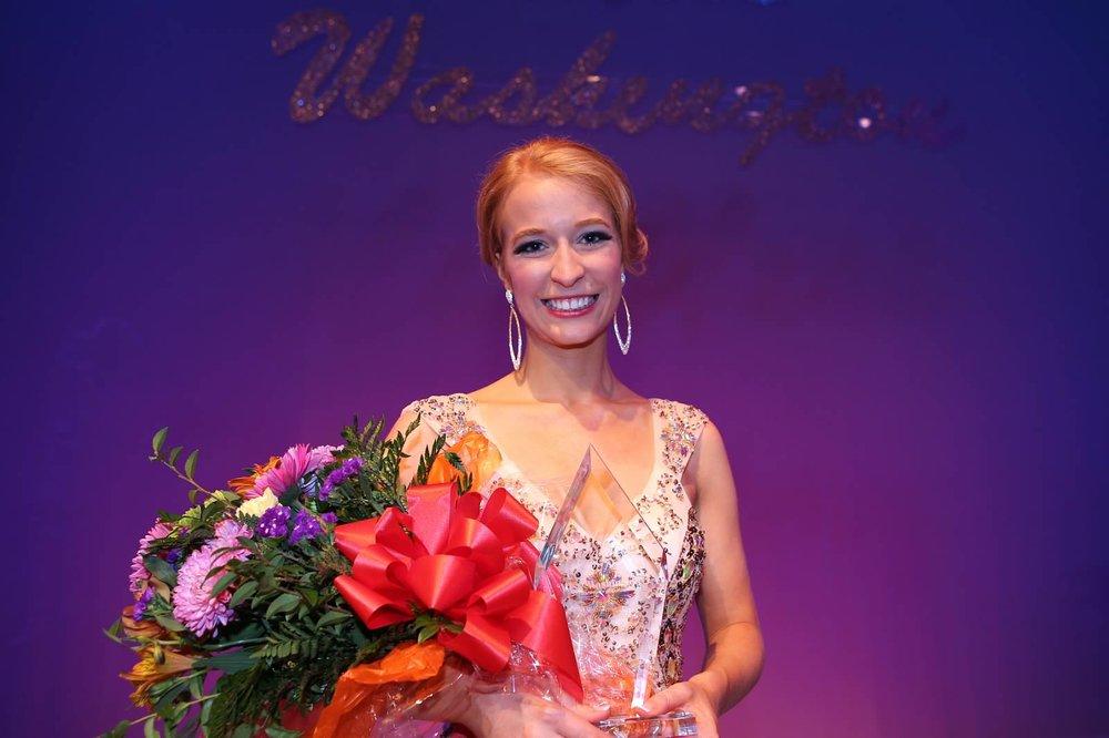 1st Runner-up at Miss WA 2015