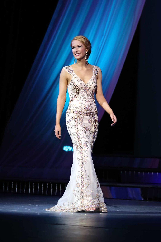 Evening Wear at Miss WA 2015