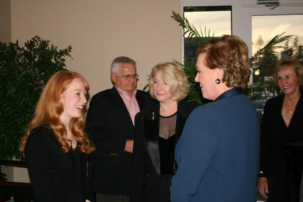 Laughing with Dame Julie Andrews