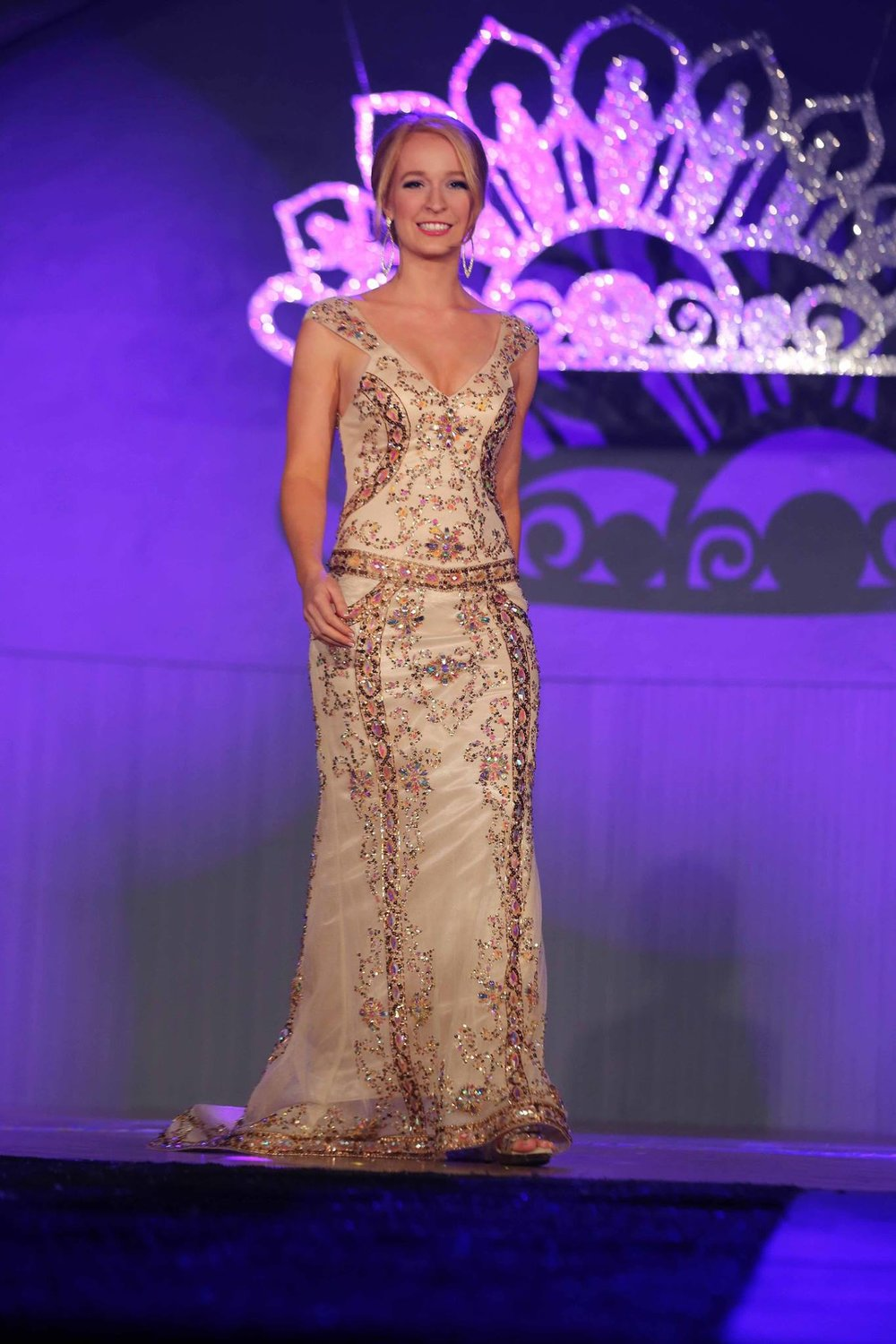 Evening Wear - National Sweetheart Pageant