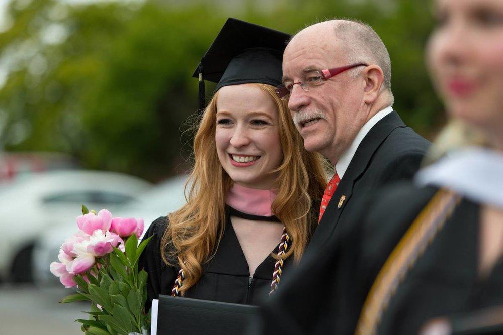Graduating PLU Summa Cum Laude