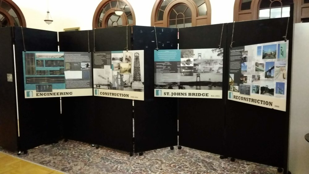 St. Johns Museum Pop-up Exhibit