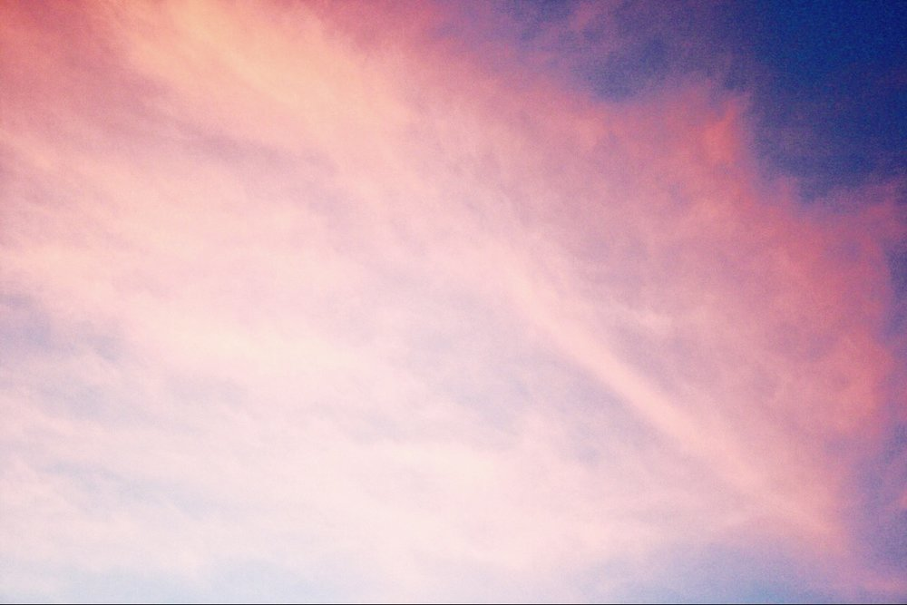 I snapped this zoomed in photo of a pink and blue hued sunset while we were in Arizona earlier last month. How fitting the colors are for October, PAIL Remembrance month.