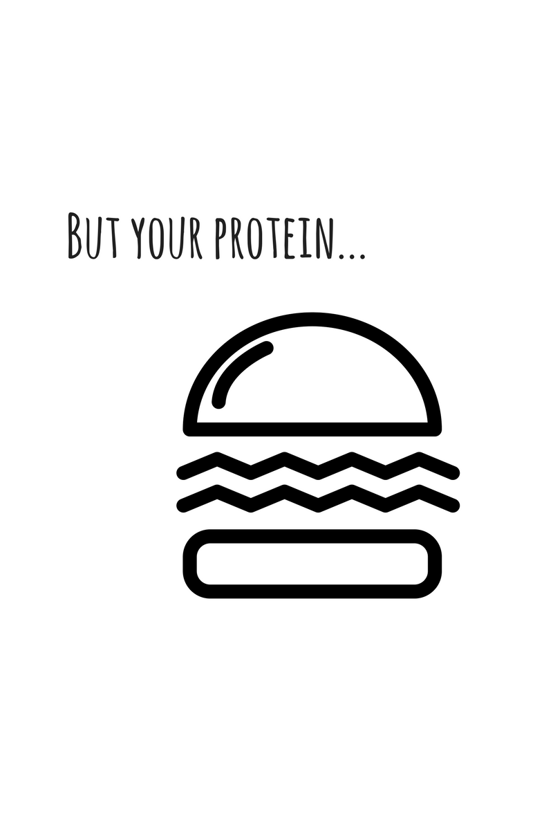 but vegans need protein