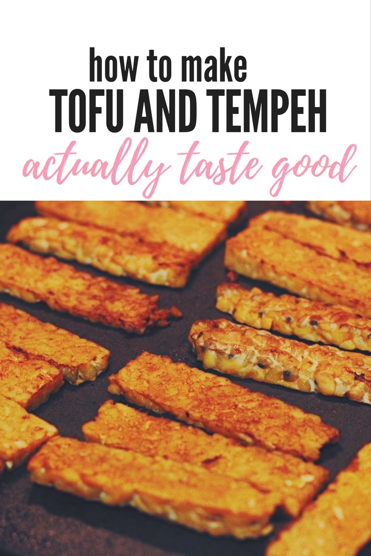 how to make tofu and tempeh actually taste good