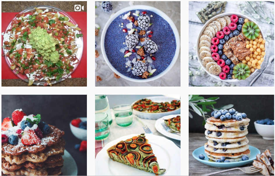 vegan food porn instagram