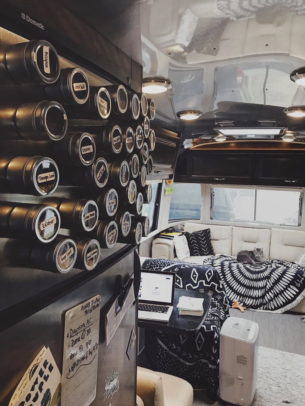 airstream magnetic spice racks