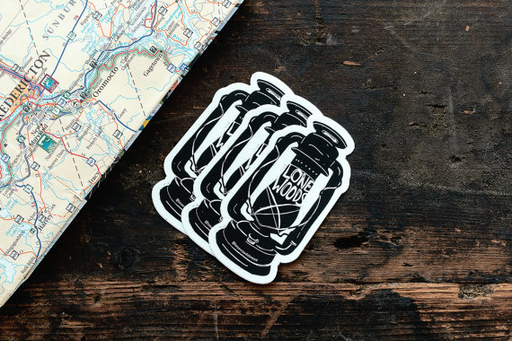 Lone Woods: Lantern Sticker ($1.88)