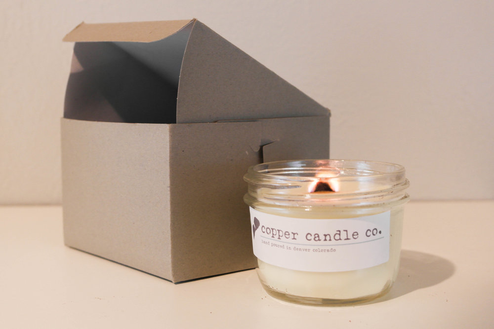 Collaboration 1:  Copper Candle Co.