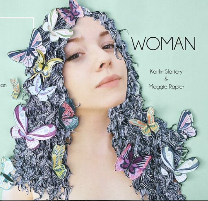 WOMAN  — Artistic Collaboration  WOMAN is an artistic collaboration with illustrator Kaitlin Rose Slattery, in which we pair my poetry with her illustrations. The project centers around various women who are asked to define themselves in one word each.