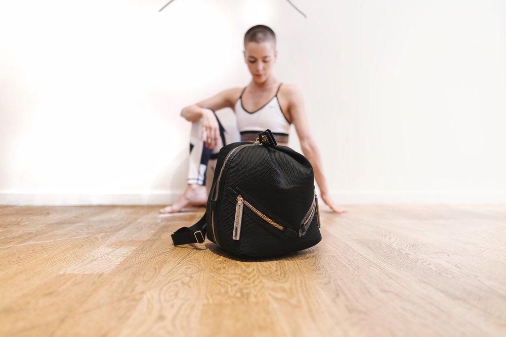 The Dance Bag in black