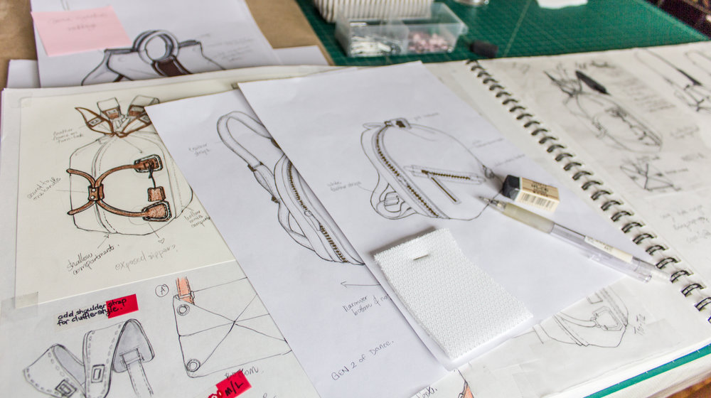 Sketches from Carmen's studio