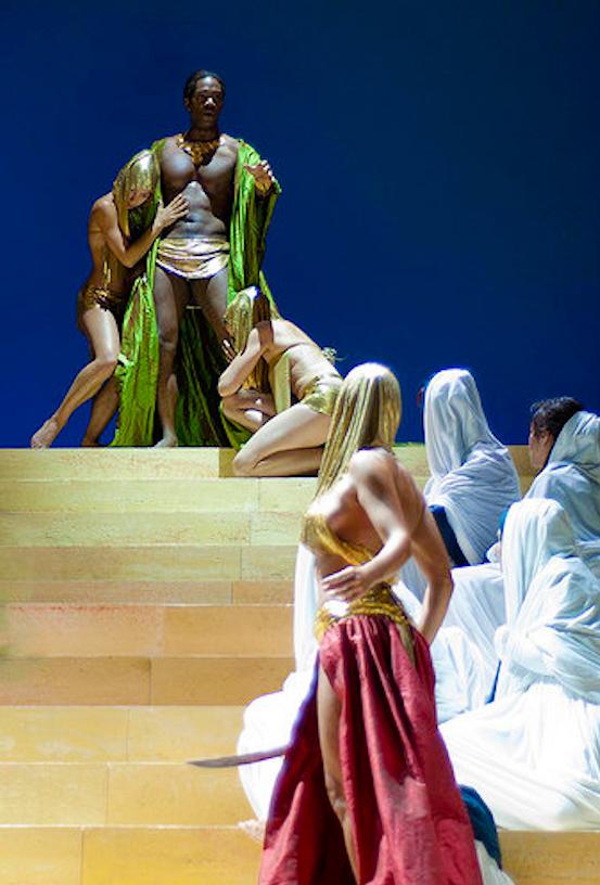 Holofernes (  Juditha   Triumphans  ), Sferisterio Festival
