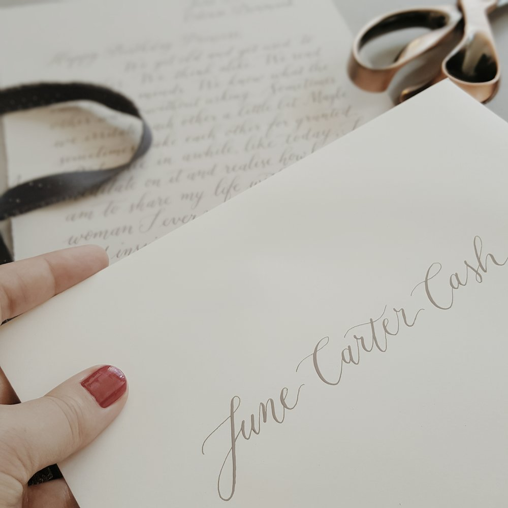 love letters - starting from $150