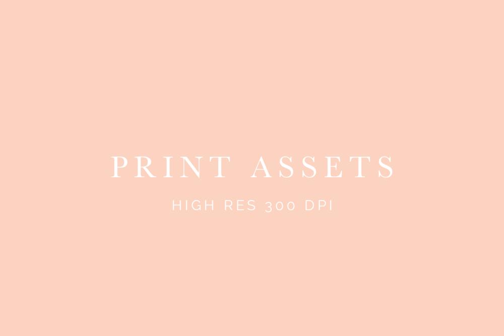Print Assets high res 300 dpi