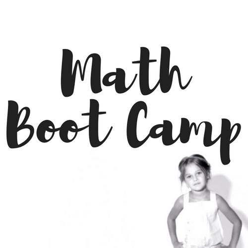 Math Boot Camp Spring Break 2018 Mt. Juliet