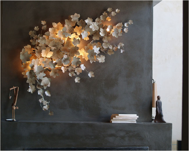 Wall Lamp Pandore, Art & Floritude