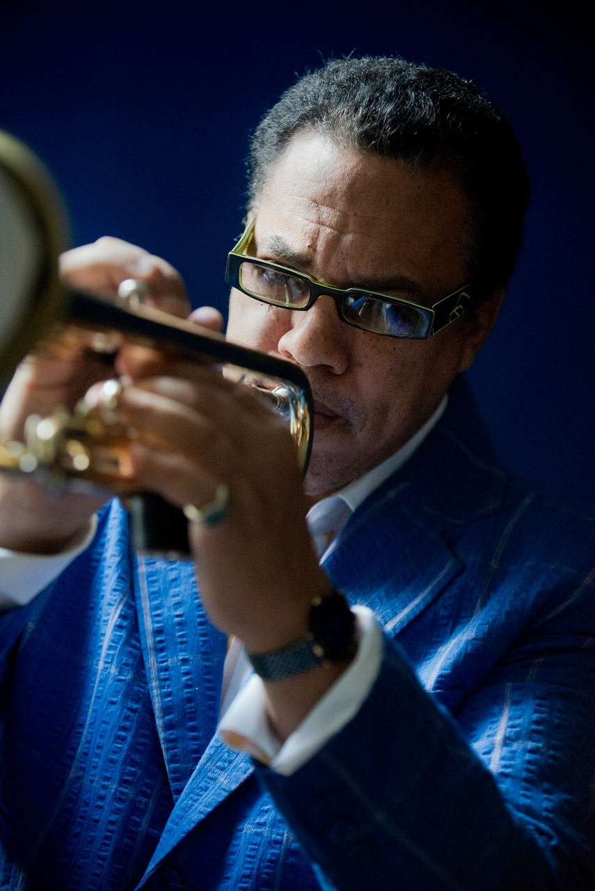 "DUKE JONES Performer, contributor Trumpeter Albert Jones is affectionately known to all friends and followers as ""Duke"". A nickname is acquired from his favorite aunt, because of his love of music at an early age. A native of New York City via White Plains. Duke began playing trumpet at the age of nine. In elementary school and through White Plains High School, Duke played and formed a band with The Lewis Brothers and Sharon Bryant. The group, which ultimately became the popular R&B / Pop success ""Atlantic Starr"", recorded their first two albums, ""Radiant""(1980) and ""Brillance"" (1982), both featuring Duke. This led to the recording of Duke's debut solo album for CTI Records entitled ""Thunder Island""....  read more Trumpeter Albert Jones is affectionately known to all friends and followers as ""Duke"". A nickname is acquired from his favorite aunt, because of his love of music at an early age. A native of New York City via White Plains. Duke began playing trumpet at the age of nine. In elementary school and through White Plains High School, Duke played and formed a band with The Lewis Brothers and Sharon Bryant. The group, which ultimately became the popular R&B / Pop success ""Atlantic Starr"", recorded their first two albums, ""Radiant""(1980) and ""Brillance"" (1982), both featuring Duke. This led to the recording of Duke's debut solo album for CTI Records entitled ""Thunder Island"". Duke attended Northwestern University in Evanston, Illinois, studying music and film. Like most artists; prior to his commercial success, he worked the New York club circuit; i.e., Fat Tuesday's, Metropolis, Birdland, etc. In the late 70's, Duke had the privileged opportunity to study traditional Island Rhythms, Calypso and Soca at the University of Virgin Islands with then Professor Larry McCleallan who went on to serve as Dean at the prestigious Berklee School of Music in Boston. With influences such as Kenny Dorham, Woody Shaw, Lee Morgan, Benny Bailey and of course, Miles Davis, all of whom helped shape Duke's trumpet voice. Duke went on to tour Japan, Europe and Africa, working with established musicians such as The Temptations, Angela Bofill, Larry Coryell and Marion Meadows. He began collaborating and recording with such artists as August Darnell of Kid Creole and the Coconuts, and drummer, producer Norman Connors, serving as an original member of his Starship Orchestra and spin-off group Aquarian Dream on Buddah Records. In 1992, Duke served as Vice President of Creole Records, a label started with then band mate August Darnell (Kid Creole). The label, distributed by Nippon Columbia, released seven CD's in Japan and the U.S. with one CD, ""The KC2 Meets KC3"", becoming the fifth largest selling English speaking record in Japan. In 2005, he formed Café Soul All-Stars and recorded their debut CD ""Love Pages"" which featured George Benson, Roy Ayers and Kenny Garrett among other great musicians."