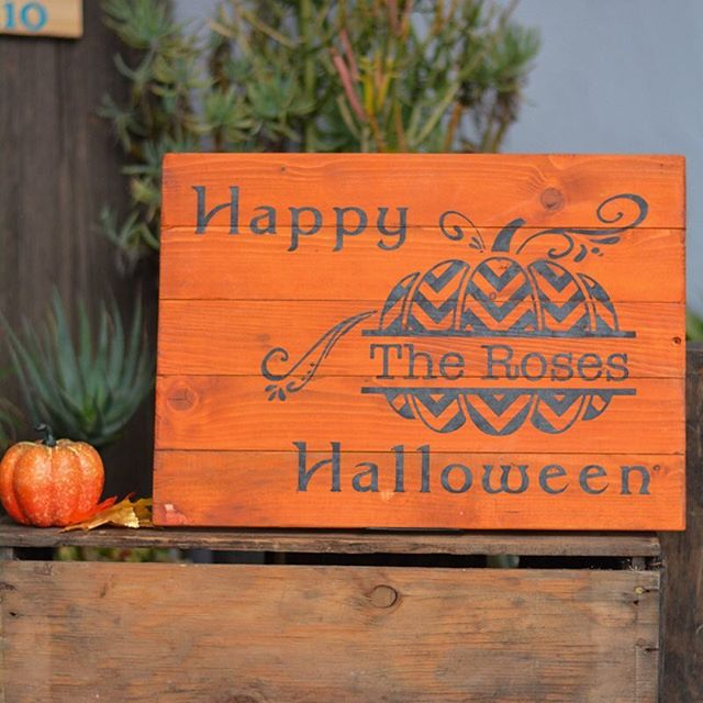 New fall and halloween signs in our sign gallery! CHECK THEM OUT HERE: http://www.19thandwest.com/fall/