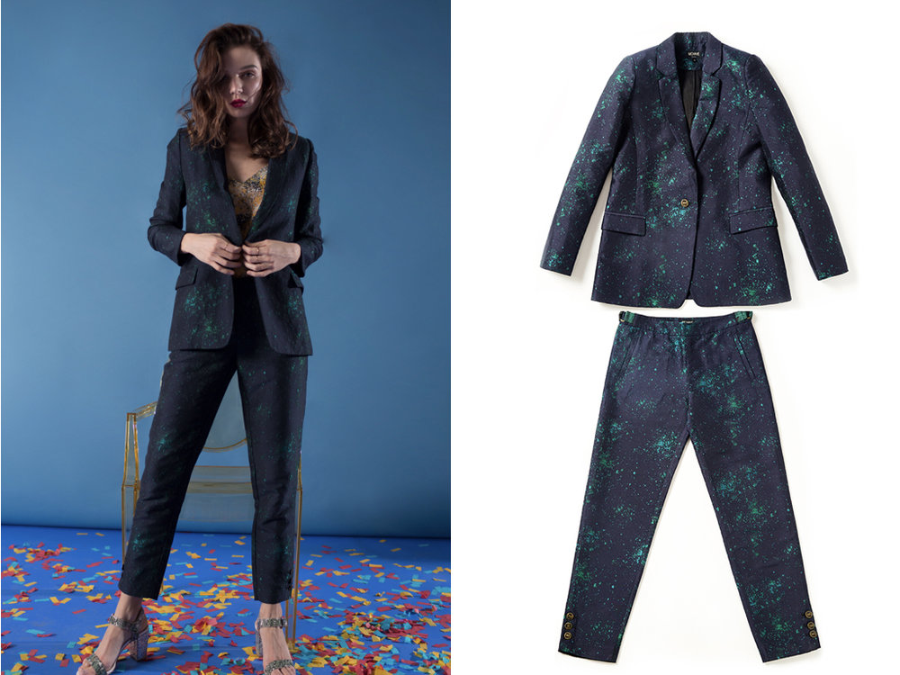 PLEASE jacket,  SHOP HERE  | PANTA trousers,  SHOP HERE