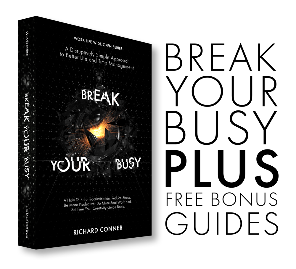 I hope you find the contents of ' Break Your Busy - Set Your Creativity Free ' (click image above).