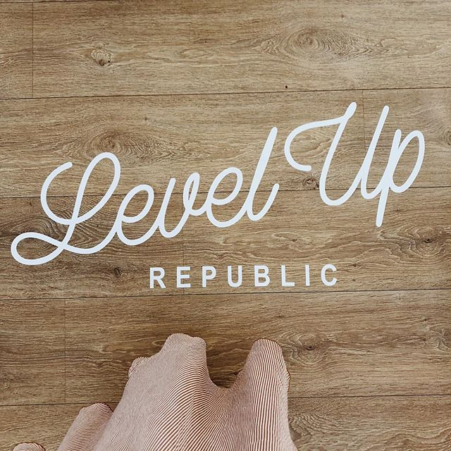 Back at Merci Events for @wordfetti  and @leveluprepublic wordshop 🙌🏼