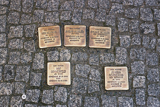 Walt Jabsco,  Kessler, Sommerfeld and Schoneberg (Stolpersteine) , via photopin.com, creative commons license.
