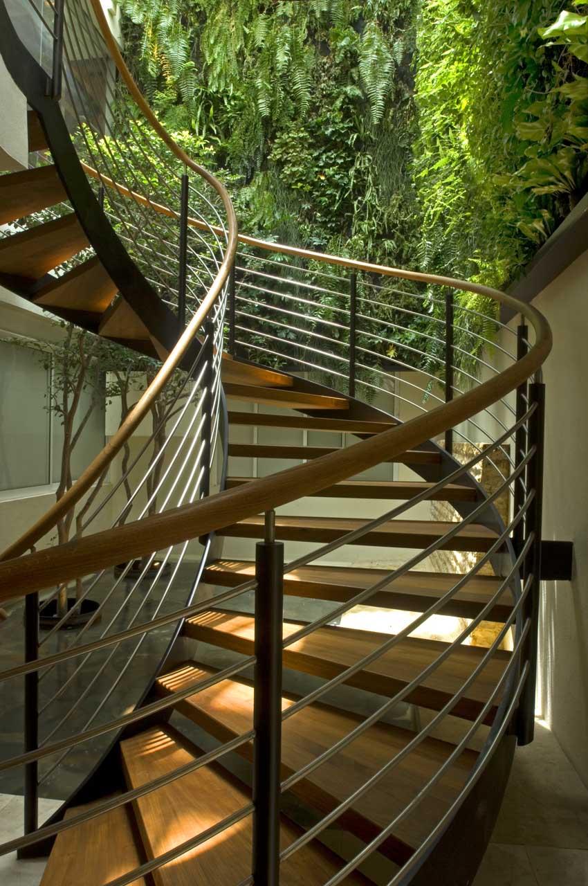 Stairs in AA Teak