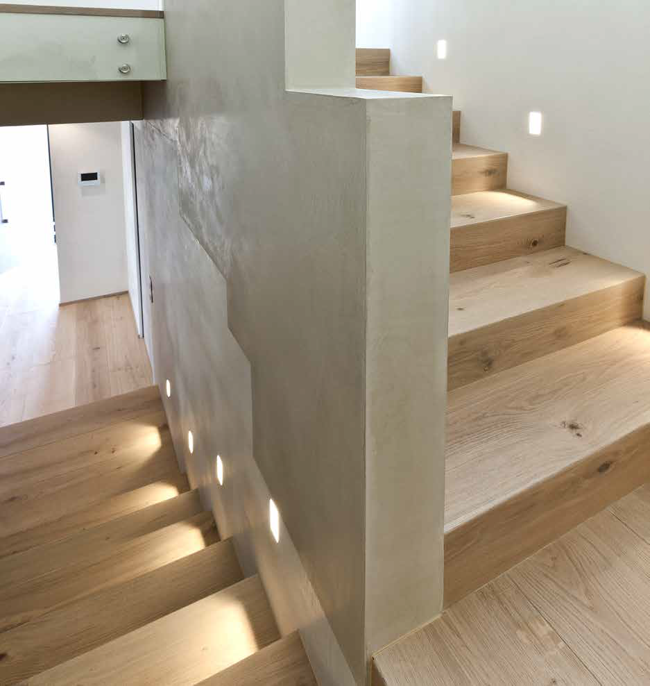Onda oak stair