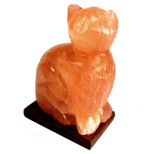 What Is A Himalayan Salt Lamp Mesmerizing Cat Familiar Himalayan Salt Lamp A Natural Magick