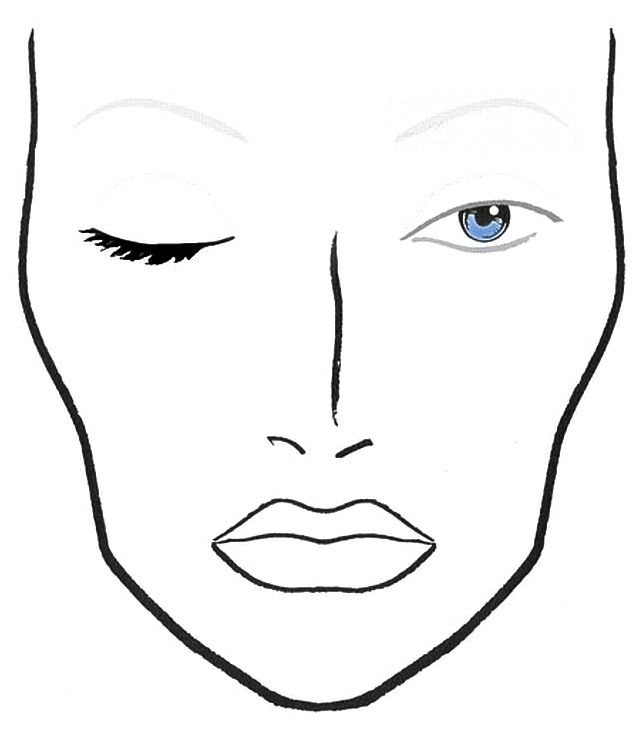 Face chart lovers the makeup school face chart lovers maxwellsz